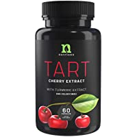 Tart Cherry Capsules with Celery Seed and Turmeric   Tart Cherry Extract 2500 mg...