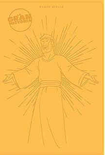NTV La Gran Historia: Biblia Interactiva, amarillo símil piel (The Gospel Project)