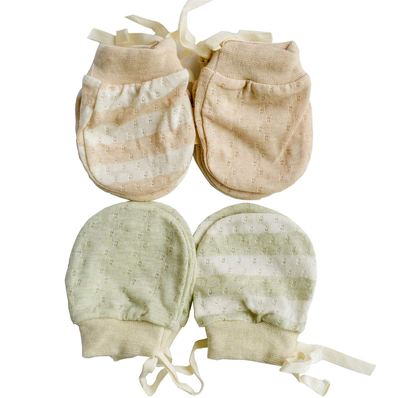 con parada de ca/ída para beb/és de 0 a 6 meses no rayan Mitones ultrafinos para reci/én nacido de algod/ón org/ánico transpirables