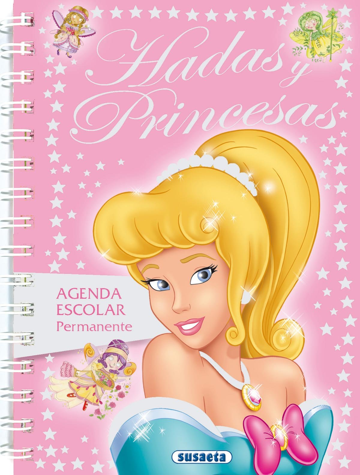 Agenda escolar permanente hadas y princesas Agenda Hadas Y ...