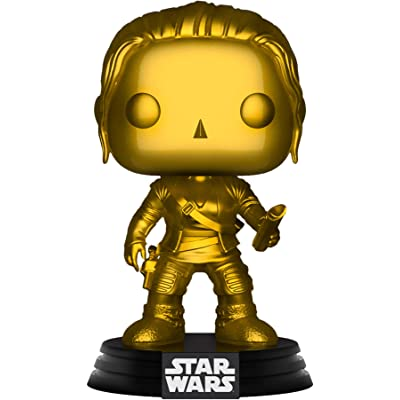 Funko Exclusive POP Star Wars: Rey (Gold Metallic): Toys & Games