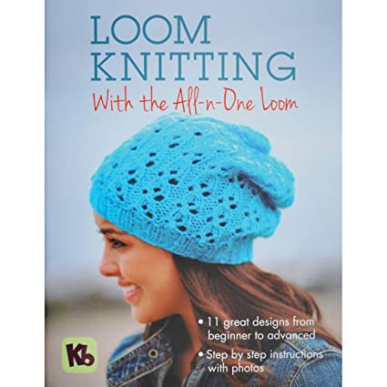 Amazon Authentic Knitting Board Loom Knitting With The All N