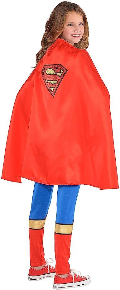 Capa de Supergirl para niñas, Superman, Accesorio de Disfraz de ...
