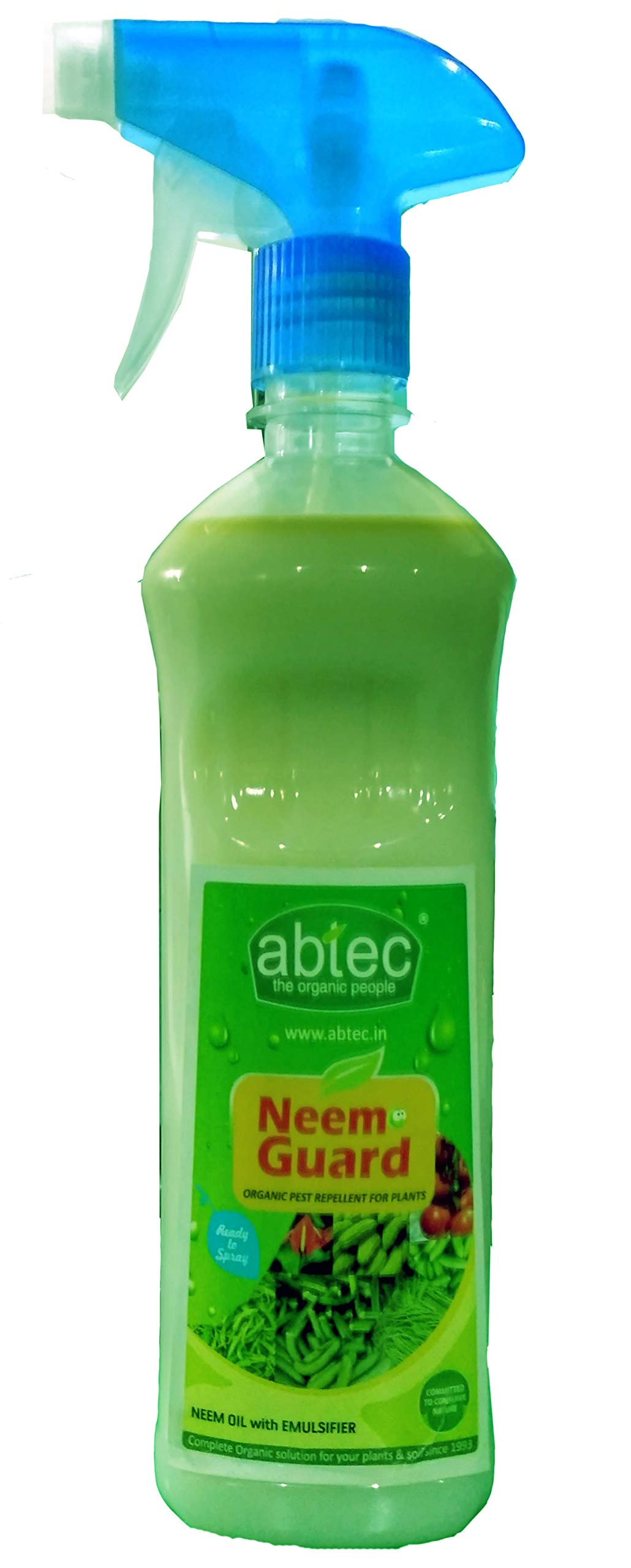 Abtec Neem Guard Organic Pest Repellent, Neem Fertilizer, Neem Oil for Plants, 500 Ml (B072613W76) Amazon Price History, Amazon Price Tracker
