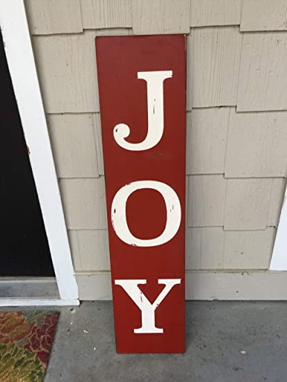 Amazoncom Pottelove Joy Signs Holiday Signs Christmas Signs