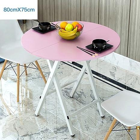 Tavolo da cucina rotondo tavolo da pranzo pieghevole soggiorno ...