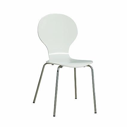 Admirable Monarch Specialties I 1048 Dining Chair One Size White Creativecarmelina Interior Chair Design Creativecarmelinacom