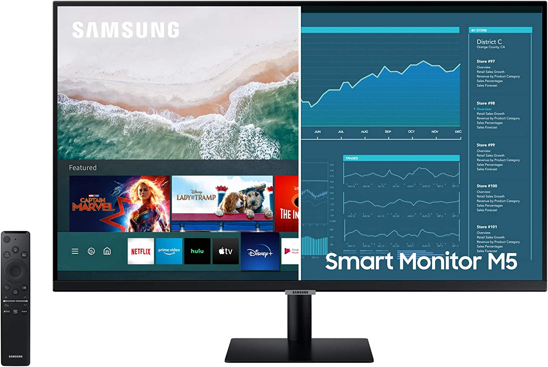 "Samsung Smart Monitor M5 27"""