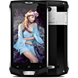 Blackview BV8000 Pro Smartphone,5.0 Pollici Display Android 7.0 4G Telefono Cellulare,IP68 Waterproof /Dustproof /Shockproof Moible Phone,MTK6737 Octa-core 1.64GHz,6GB RAM + 64GB ROM,16.0MP+8.0MP Dual Camera,Dual Sim 4180mAh Batteria,Gesture Wakeup,WiFi/Hotkont/GPS/OTG/ OTA/NFC Cellulare - Argento