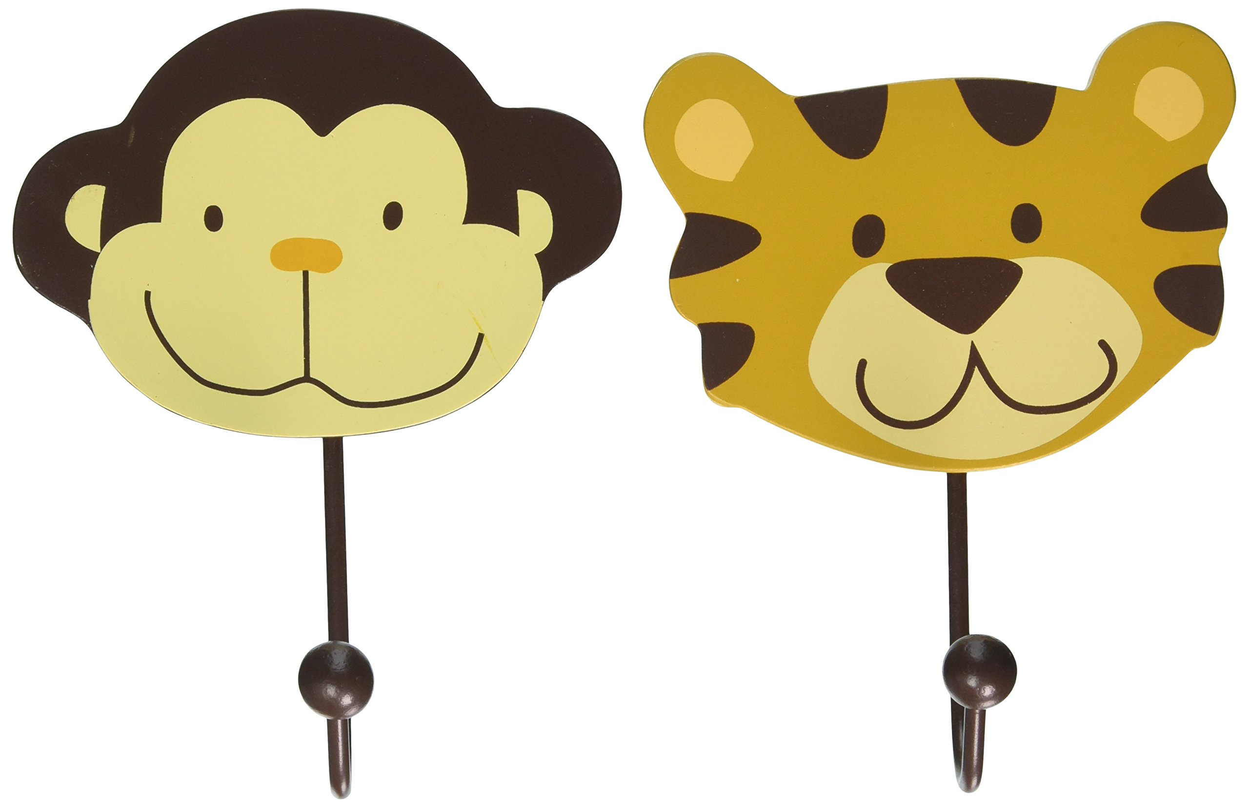Amazon.com : Nojo Jungle Babies Diaper Stacker : Baby