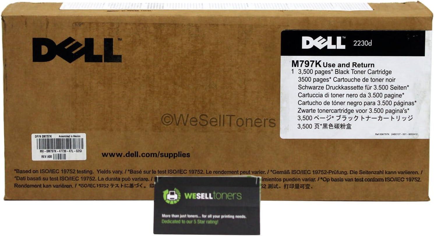 Dell M797K (330-4131) Toner Cartridge, 3500 page yield, Black