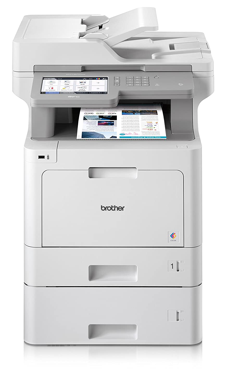 Brother MFC-l9570cdwt professionale 4in 1multifunzione laser a colori (stampante, scanner, fotocopiatrice, Fax, 2400X 600DPI) Bianco/Grigio MFCL9570CDWTG2
