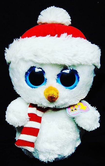 d2df80310e4 Amazon.com  Ty Beanie Boo Buddy Scoops Snowman by Ty Beanie Boos ...