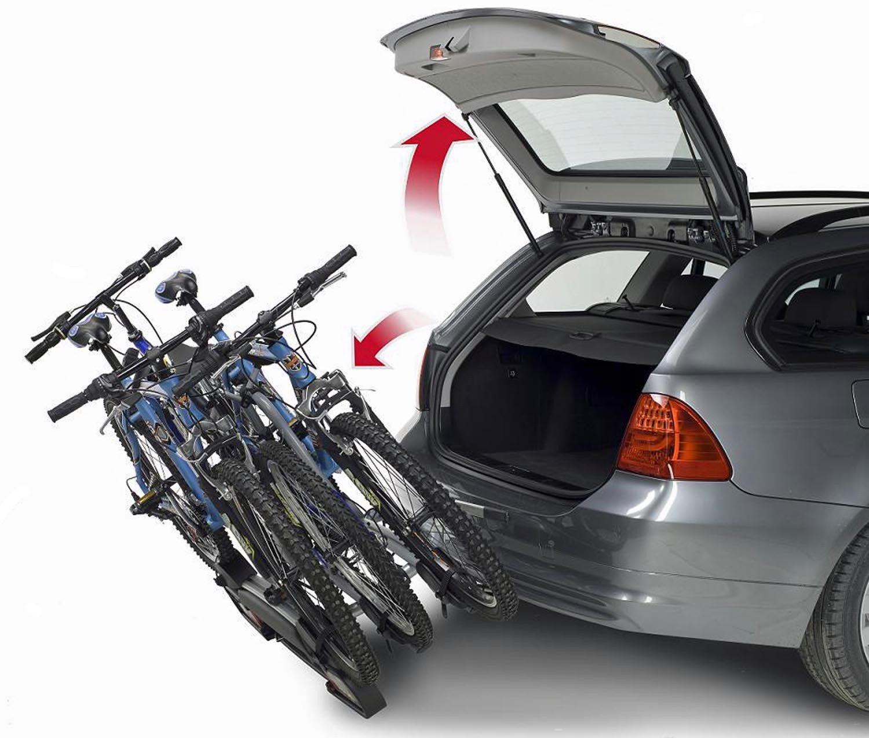 MENABO Winny 3 /Ruote Portapacchi da Bicicletta con Quick Lock