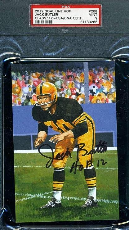 edf087555 Football-NFL Autographs-Original Jerome Bettis Pittsburgh Steelers HOF  Class of 2015 Goal Line Art Card ...