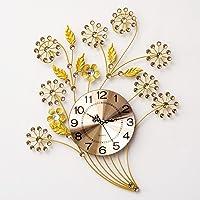 reloj de pared Flores Hierro Creativo Reloj