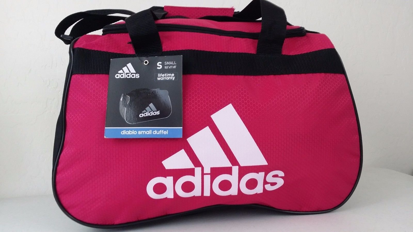 adidas Diablo Duffel Small (Bold Pink/Black/White)