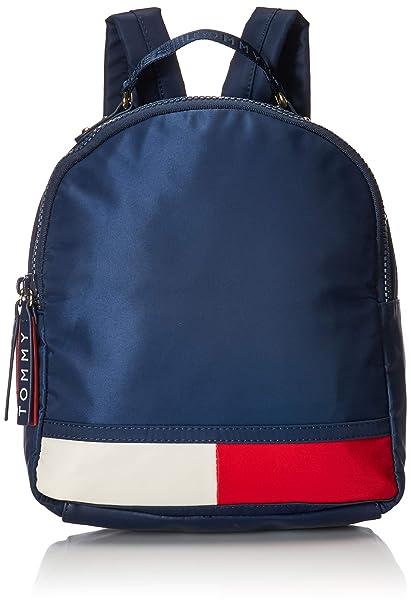 88e03fc52d Tommy Hilfiger Women's Nori Flag Nylon Backpack Tommy Navy One Size ...