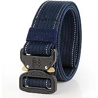 diconna para hombre cinturón táctico militar nailon cinturón de entrenamiento con hebilla de metal