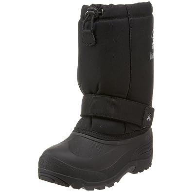 Kamik Rocket Cold Weather Boot (Toddler/Little Kid/Big Kid),Black