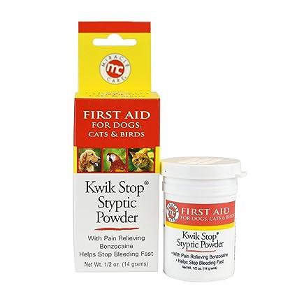 Amazon.com : Miracle Care Kwik Stop Styptic Powder, 0.5 Oz : Pet ...