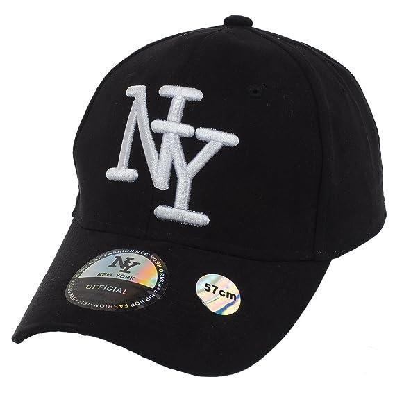 Ny official NY Negro H Newyork - Gorra - Negro - Talla única: Amazon.es: Deportes y aire libre