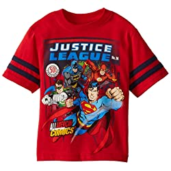 DC Comics Boys' Justice League All American Tee