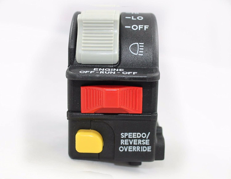 Polaris 2002-2017 Sportsman Trail Boss Magnum Scrambler Xplorer Hawkeye 330 400 450 500 550 570 600 700 800 850 1000 Left Handlebar Switch 4011835 New OEM Polaris Industries Inc 4336328545