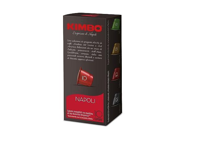 Cápsulas compatibles con cafeteras Nespresso®* (Napoli): Amazon.es ...
