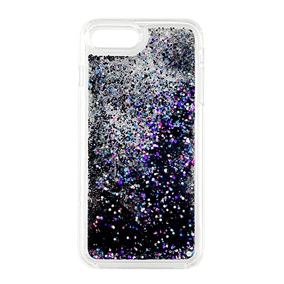 black glitter iphone 8 case