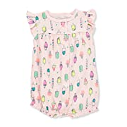 Cookie's Kids Carter's Baby Girls' Romper - Pink, 3 Months