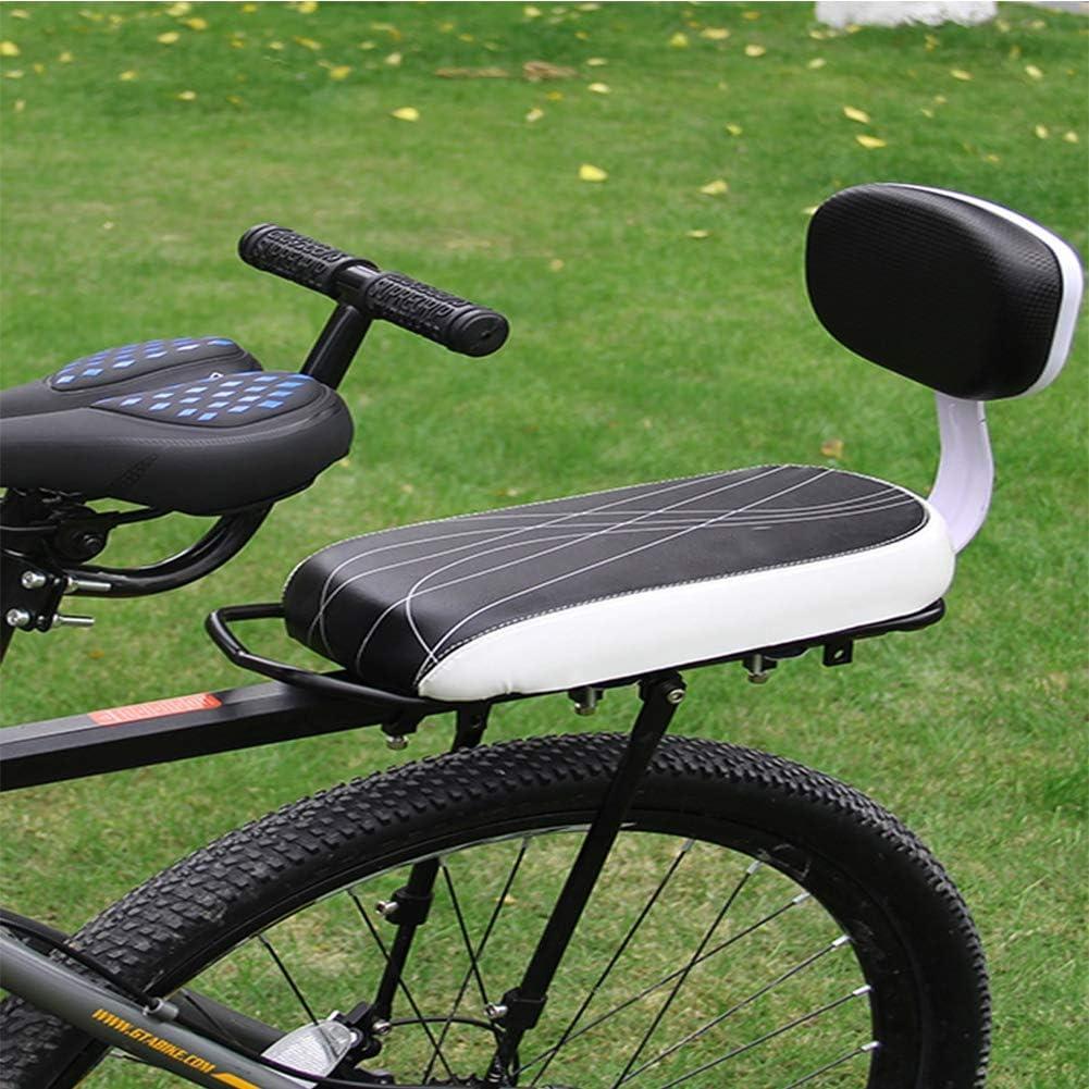 Joyfitness Asiento Trasero de la Bicicleta Respaldo Asiento ...