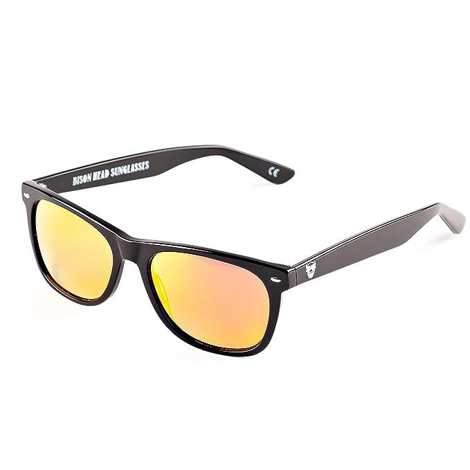 Amazon.com: Gafas de sol estilo clásico Bison Head XXL: Clothing