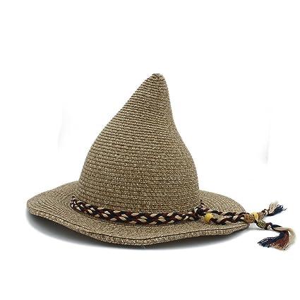 SMC 21 CM Top Hat Donna Uomo Gandalf Witch Wizard Cosplay Festa di Carnevale  Halloween Intrecciato f1ebfed7a715