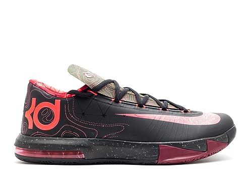 best service 2fb25 aa11f Nike KD VI Black Atomic Red (599424-006) mens Shoes