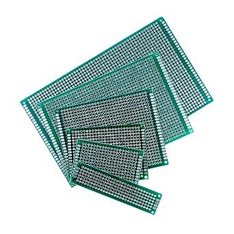 Single Sided Soldering Copper Clad Circuit Board PCB Fibreglass 7cm x 9cm FR4