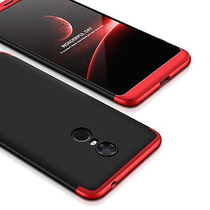 f2a12fd286 Bounceback ® Xiaomi Mi Redmi Note 5 Case 3 in1: Amazon.in: Electronics