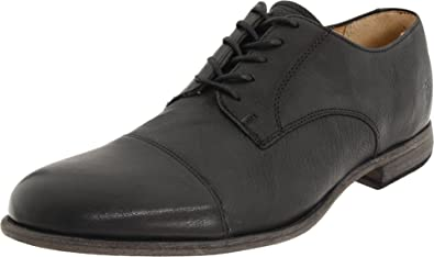 FRYE Men's Harvey Cap Toe OxfordBlack9 ...