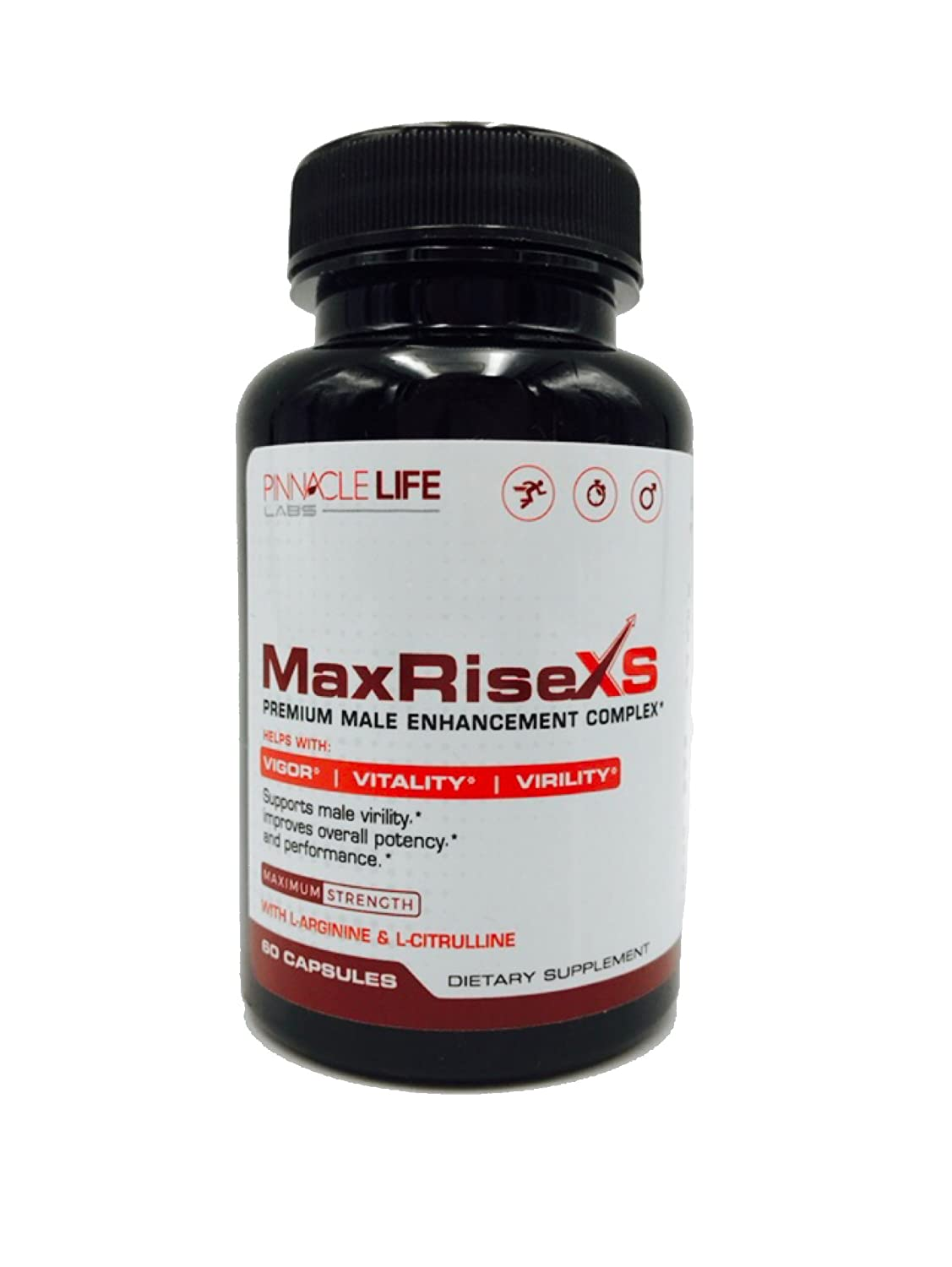 Amazon.com: Max Rise XS- Premium Enhancement Complex- Helps With Vigor Vitality Virality- Supports Male Vitality: Health & Personal Care