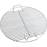 Huaxiong Grille ronde en acier inoxydable pour barbecue 44,5 cm Rectangle Silver