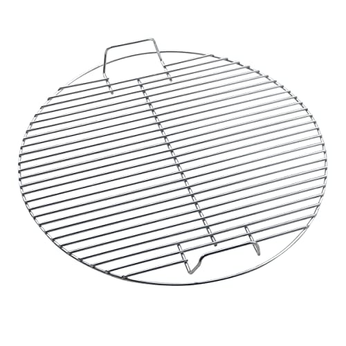 HUAXIONG bbq cooking grate  Barbecue Racks Round Barbecue Grill BBQ Rack Grilling Rack Bbq Wire Mesh BBQ Fire Pit Heavy Duty Rack 44.5CM fits Barbecue