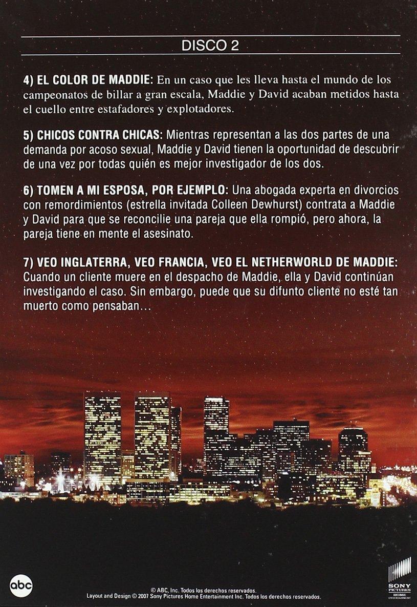 Luz De Luna T5 - Qua [DVD]: Amazon.es: Bruce Willis, Allyce ...