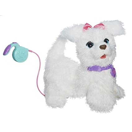 amazon com furreal friends get up gogo my walkin pup pet toys