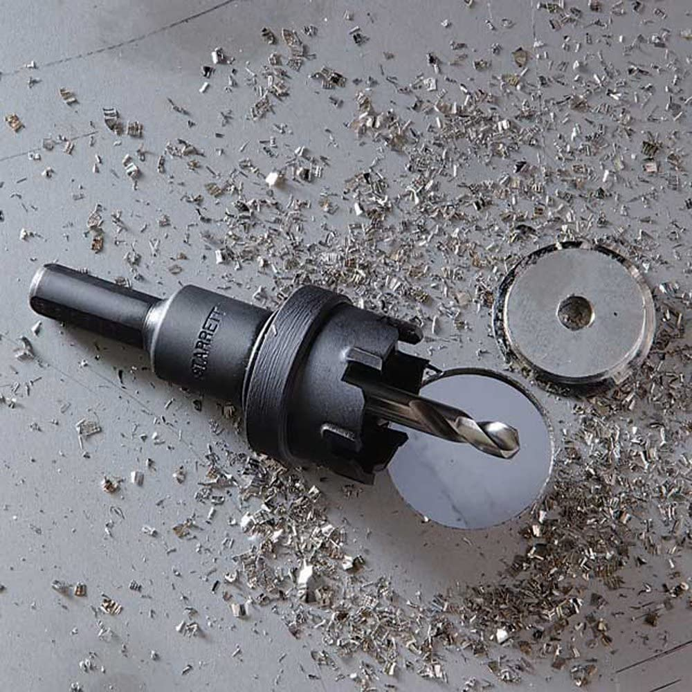 26 mm Starrett SM026 Corona perforadora Negro
