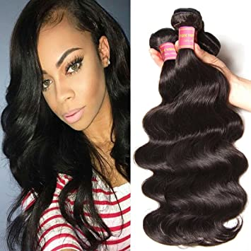 Amazon jolia hair 7a grade virgin brazilian body wave hair 3 jolia hair 7a grade virgin brazilian body wave hair 3 bundles 100 unprocessed human hair pmusecretfo Image collections