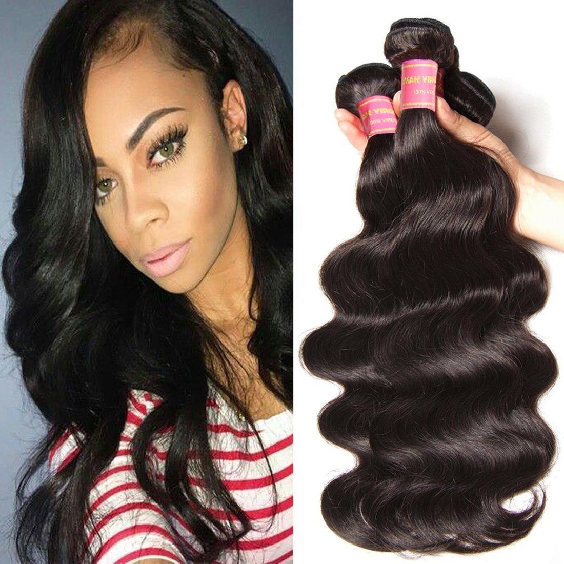 Amazon jolia hair virgin brazilian curly hair weave 3 jolia hair 7a grade virgin brazilian body wave hair 3 bundles 100 unprocessed human hair pmusecretfo Choice Image