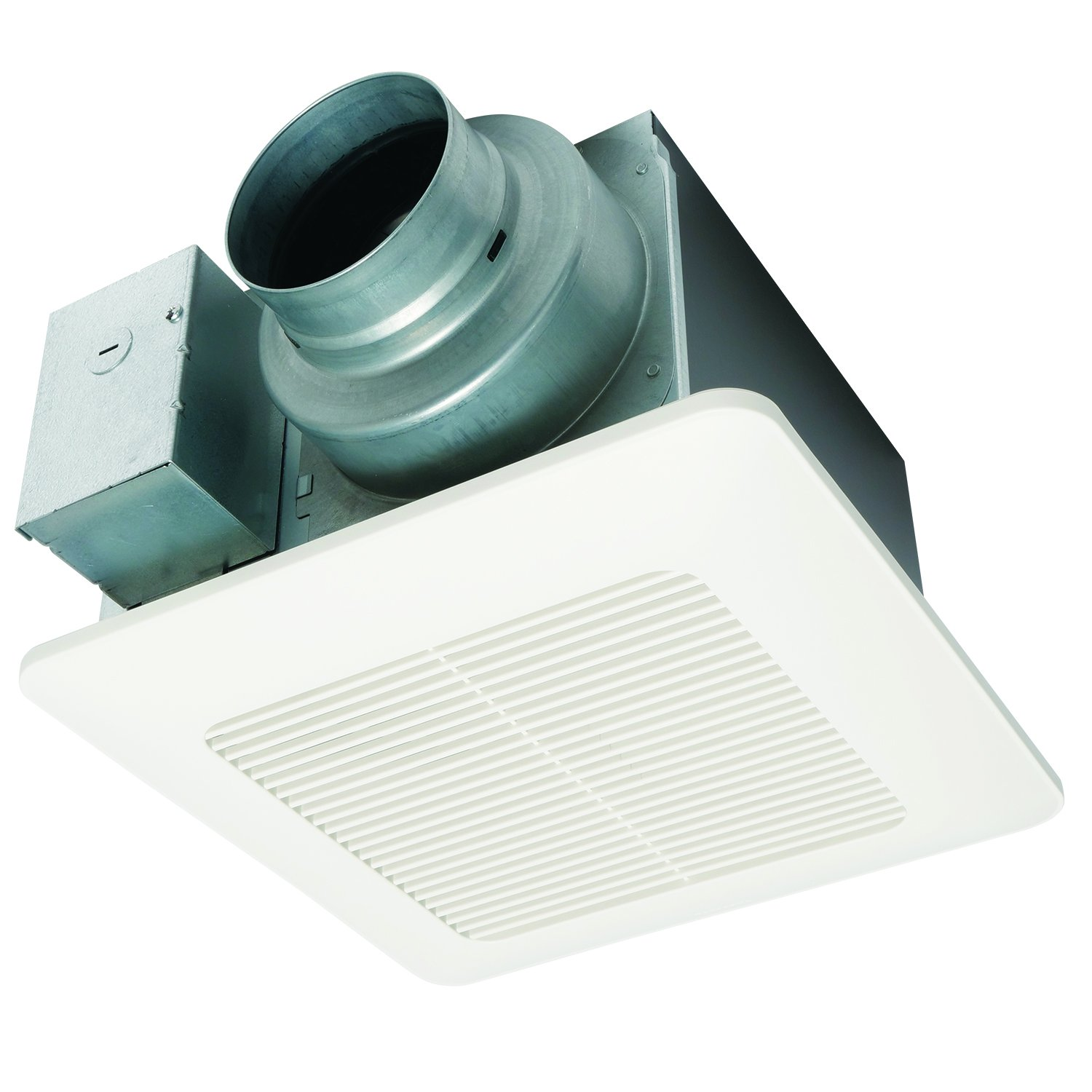 Panasonic Fv 11vq5 Whisperceiling 110 Cfm Ceiling Mounted Fan White And Light To Gfci Wiring Diagram Built In Household Ventilation Fans