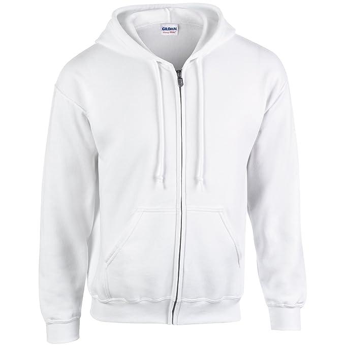 Sudadera con capucha Heavy Blend, de la marca Gildan Blanco blanco XXX-Large: Amazon.es: Ropa y accesorios