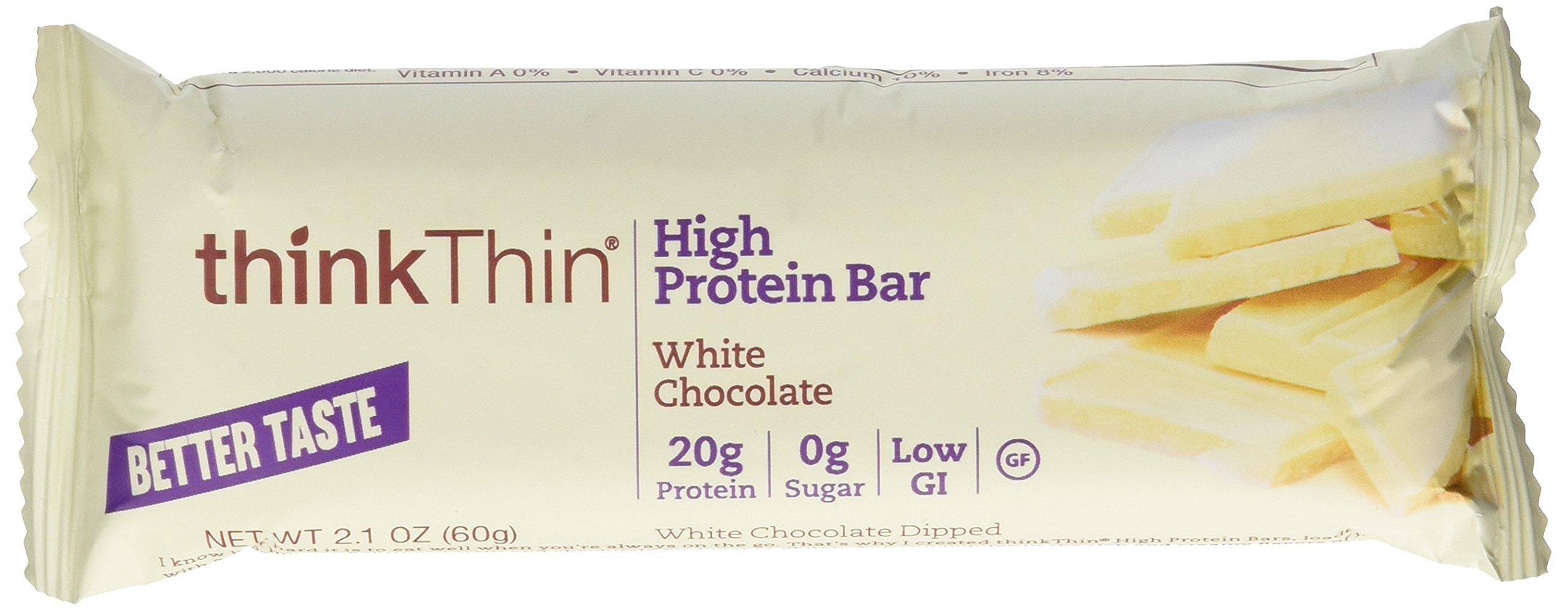 Think Thin 20 Pack (2 X Box of 10)- (White Chocolate)