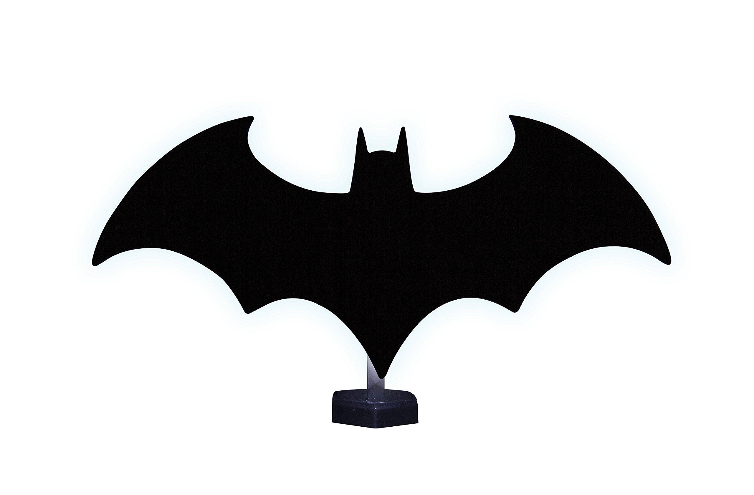 Bat Signal Superhero Logo Glass Mount Batman lamp Night lights LED Batman Logo